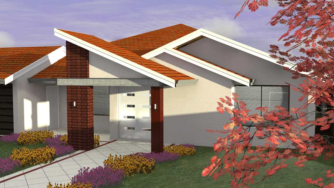 Eco Home Front elevation